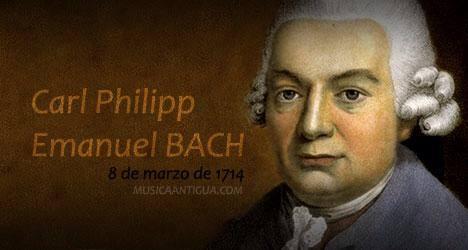 Carl Philipp Emanuel Bach var i sin samtid mer kjent enn faren Johann Sebastian.